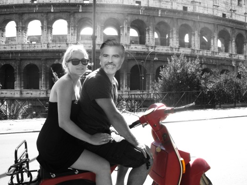 On my way with George .. ;)